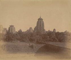 Panoramic view of group of temples east of the Yameshvara Temple (right-hand section)